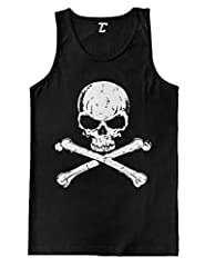 Looking for the perfect tanktop to wear anytime? Look no further! This amazing Skull And Crossbones - Badass Men's Tank Top is a comfortable, affordable way to express yourself. Whether purchasing for a family member, loved one, or everyone y...