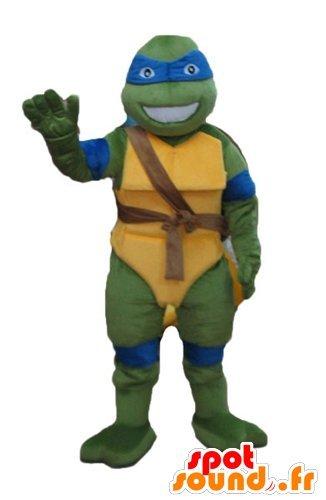 Mascot Leonardo, famosa tortuga azul Tortugas Ninja: Amazon ...