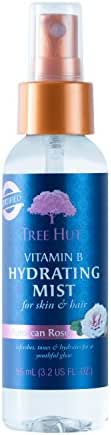 Tree Hut Shea Hydrating Mist, Moroccan Rose, 3.2 Fluid Ounce (Pack of 12)
