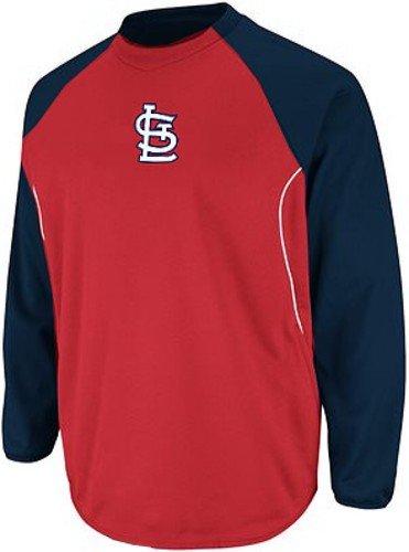 St Louis Cardinals MLB Authentic Therma Base Tech Fleece Big & Tall Sizes (4XT)