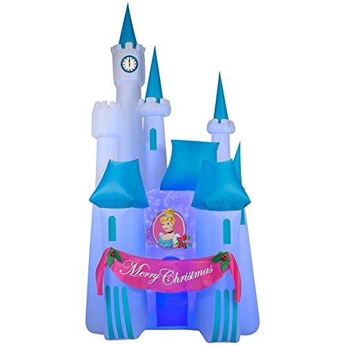 Christmas Airblown Inflatable Projection Kaleidoscope of Cinderella's Disney Castle Scene