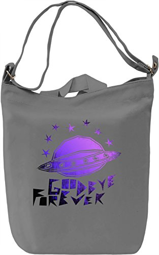 Goodbye Forever Borsa Giornaliera Canvas Canvas Day Bag| 100% Premium Cotton Canvas| DTG Printing|