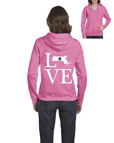 NIB Love Massachusetts State Flag Traveler`s Gift Womens