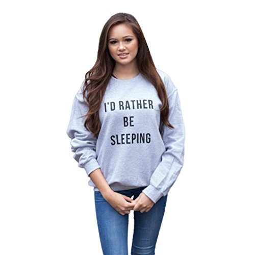 Lisingtool Women Zipper Blouse Hoodie Hooded Sweatshirt Coat Jacket Pullover (XL, Gray #5)