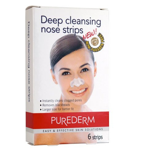 Amirose Purederm Deep Cleansing Nose Strips (6 Strips)