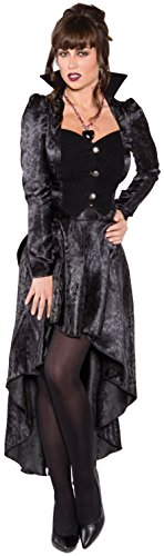 Queen Of Darkness Sexy Costumes (Underwraps Costumes Women's Sexy Vampire Costume - Eternal Kiss, Black, Medium)