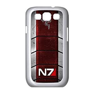Samsung Galaxy S3 I9300 Phone Case for Classic theme Mass Effect N7 Logo pattern design GCTMSEFNL793670