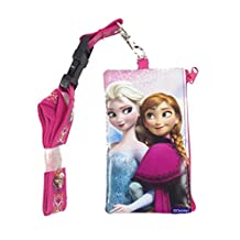 New Disney Frozen Set of 3: Anna Olaf Elsa Lanyard Id Holder Wallet Perfect for Disneyland