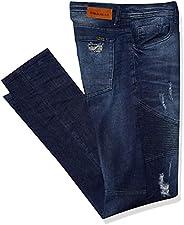 Calça Masculina Jeans Top Premium Polo Wear, Jeans Médio, 48