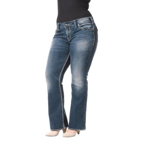 Silver Jeans Women Suki Surplus Plus Size Bootcut Mid Rise Curvy ...