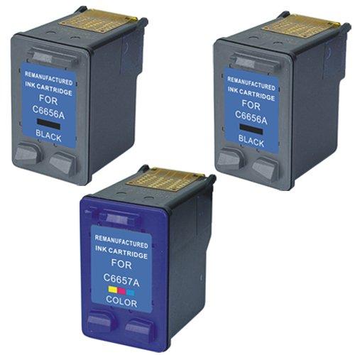 Amsahr 56(C6656) Remanufactured Replacement HP Ink Cartri...