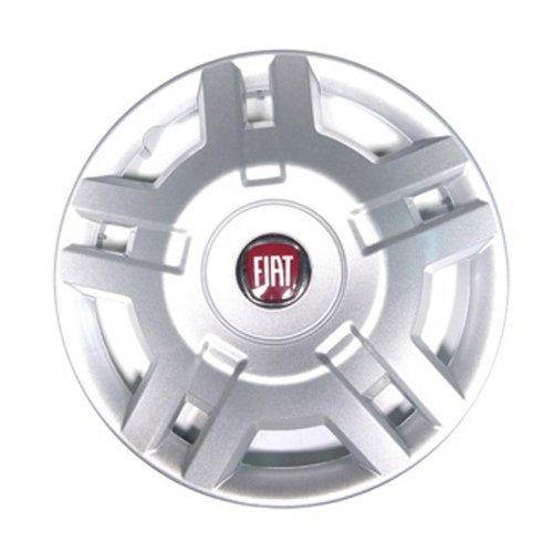 'Lot de 4enjoliveurs 15pouces Logo Rouge