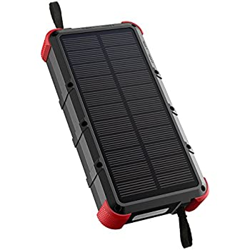 Amazon Com Wireless Charger Solar Power Bank Tjforever