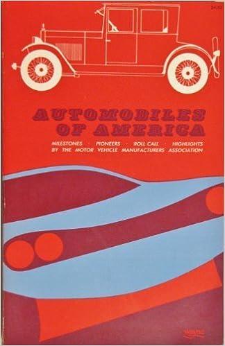 Ilmainen lataa itext-kirja Automobiles of America (A Savoyard book) in Finnish DJVU