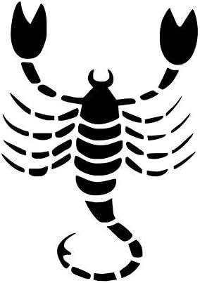 KUANGJING Autoadhesivo Escorpio Zodiac Tatuajes de Pared de Vinilo ...