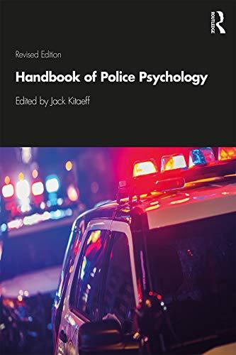 (Handbook of Police Psychology )