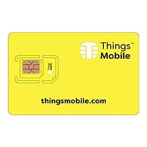 41tgq ByOZL. SS300 SIM Card per LUCCHETTO PER BICI INTELLIGENTE/BIKE SMART LOCK - Things Mobile - copertura globale, rete multi-operatore…