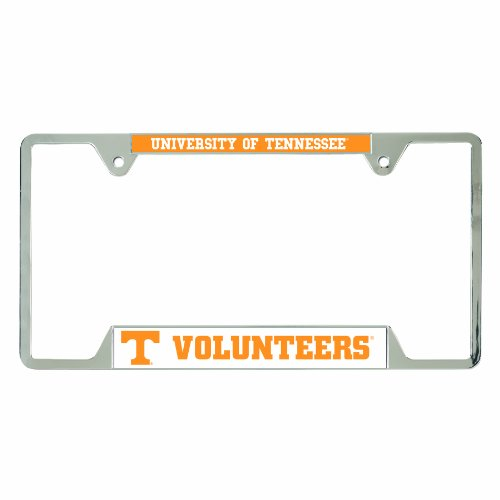 (NCAA Tennessee Volunteers Metal License Plate Frame)