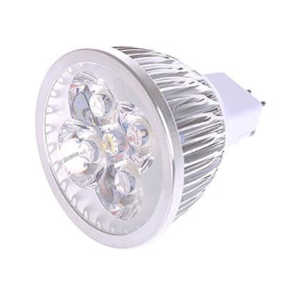 Lot of 10 PCS Dimmable 120V 4W MR16 LED Bulbs - 3200K Warm White LED Spotlights - 50Watt Equivalent - 330 Lumen 60 Degree Beam Angle for Landscape, Recessed, Track lighting
