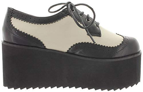 Bianco Banned Banned Nero Sneaker Sneaker donna qTdXa0Pw