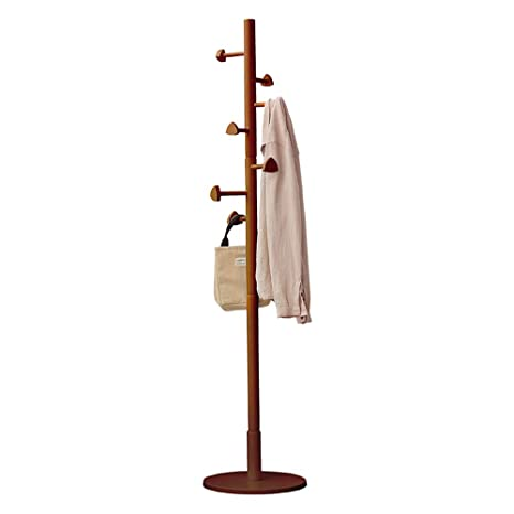 Amazon.com: COAT RACK ZHIRONG Stand-Coat Hat Tree Coat ...