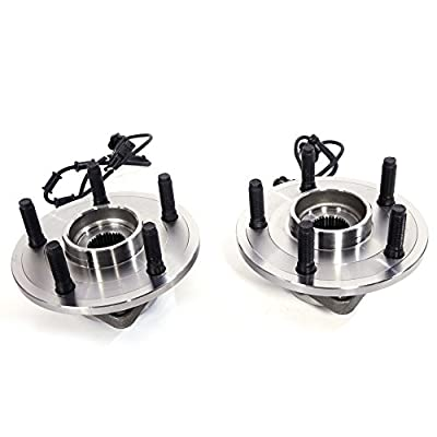 Autoforever Wheel Hub & Bearing Assembly on Front Left and Right Side Fit for 2002-2006 Dodge Ram 1500 with ABS Fit for 5 Lugs: Automotive