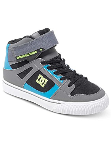 DC Spartan High EV Kids Black Armor Turquoise 39