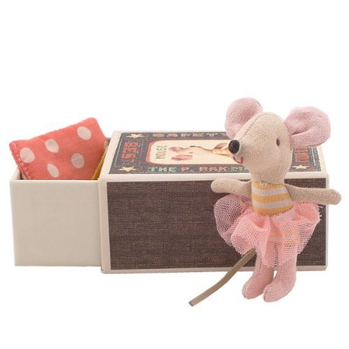Maileg Littlesister Mouse in a Box