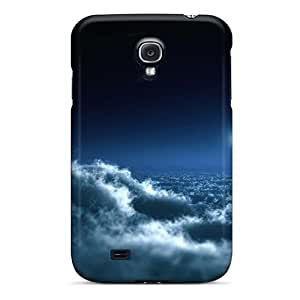 Awesome Design Clouds Landscapes Moon Skyscapes Hard Case Cover For Galaxy S4