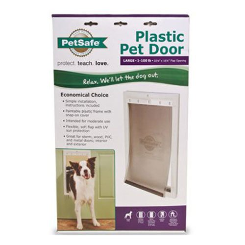 PetSafe Plastic Pet Door with Soft Tinted Flap Large