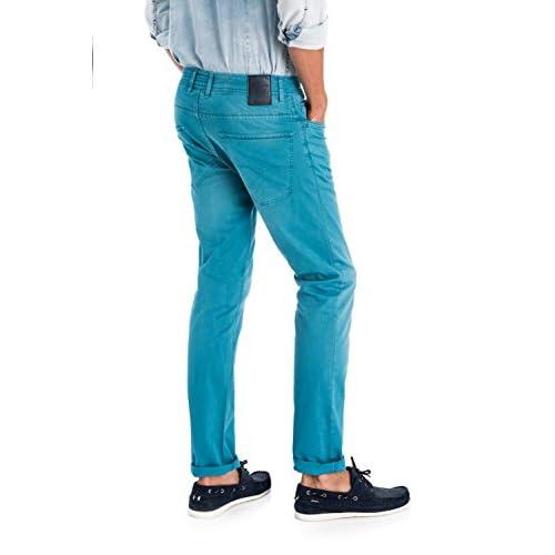 Salsa Lima Homme Bleu Couleur En De Pantalons Toile wHxF4Zwgq