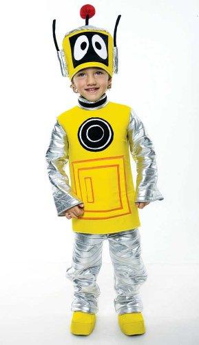 Yo Gabba Gabba Deluxe Plex Toddler Costume, Toddler 3/4