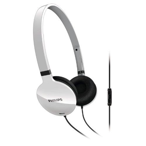 Philips SHL1705WT/10 Headset Leicht-Kopfhörer mit Bügel 30mm weiß