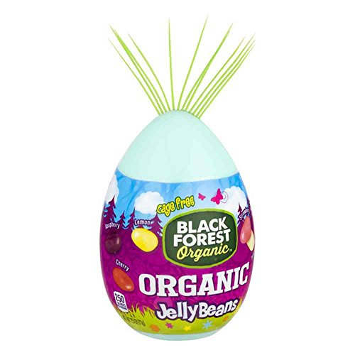 Black Forest Organic Filled Egg Jelly Beans Candy, 2.5 Ounce