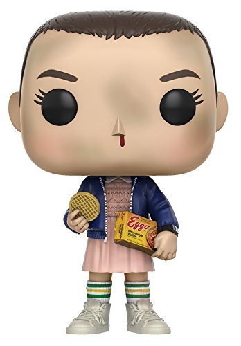 Funko Pop Stranger Things Eleven with Eggos Vinyl Figure , Styles May Vary - with/Without Blonde Wig 13318 Accessory Toys & Games Miscellaneous
