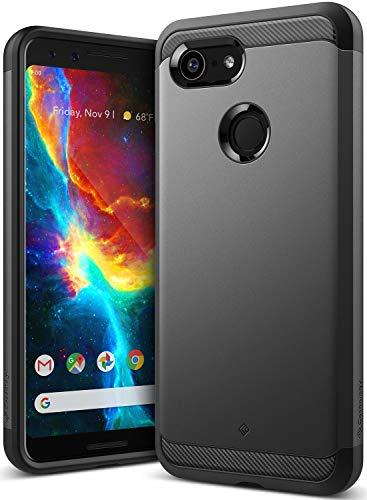 (Caseology Legion for Google Pixel 3 Case (2018) - Reinforced Protection - Black)
