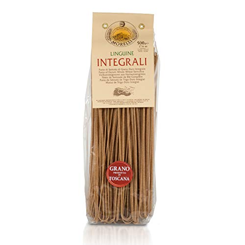 Morelli Pasta Integrali - Whole Wheat Linguine, Imported from Italy 500g