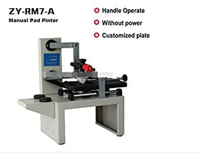 ZY-RM7-A Desktop Manual Pad Printer,handle pad printing machine,ink printer,move ink printing machine