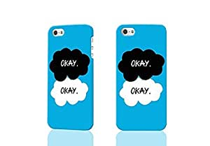The Fault in Our Stars Okay 3D Rough Case Skin, fashion design image custom , durable hard 3D case cover for iPhone 4 4S , Case New Design
