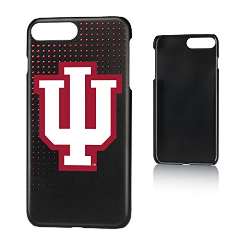 Keyscaper KSLM7X-00IU-DOTS01 Indiana Hoosiers iPhone 8 Plus / 7 Plus / 6 Plus Slim Case with Dots Design