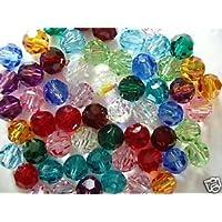 Am Goelx Crystal Swarovski Colorful Jewelry Making Beads, Size 8mm