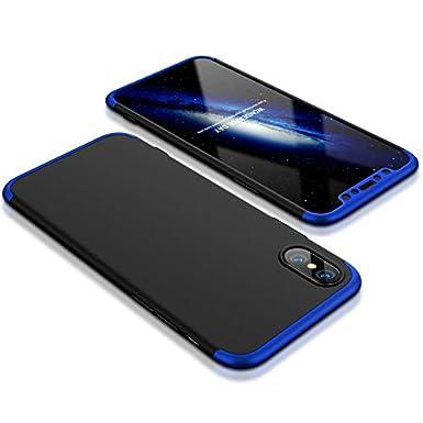 size 40 fcdc3 b47b8 KeKeYM Full Body Case for Huawei P Smart 2019, 3 in 1 Ultra Thin PC ...