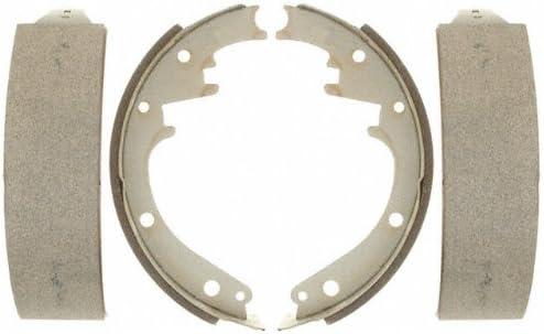 ACDelco 14473B Advantage Bonded Rear Brake Shoe Set