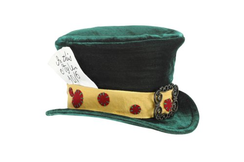[elope Kid's The Madhatter Green Hat] (Mad Hatter Alice Costumes)