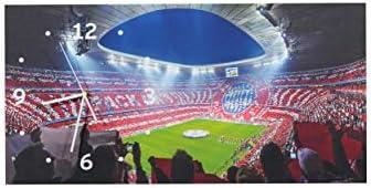 FC Bayern München Wanduhr Allianz Arena
