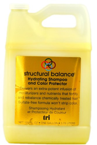 Tri Structural Balance - Hydrating Shampoo and Color Protector - 128 oz / (Hydrating Shampoo Gallon)