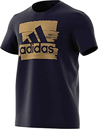 Adidas Graphic Tee Short Sleeve For Men, X-Large, Multicolor (DV3083)