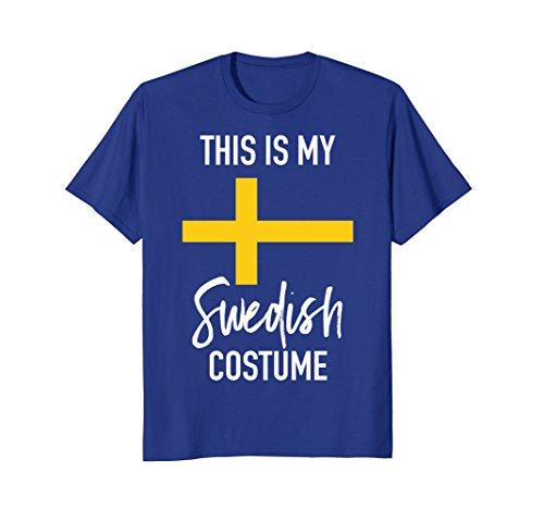 Mens This is my Swedish Costume T-Shirt -