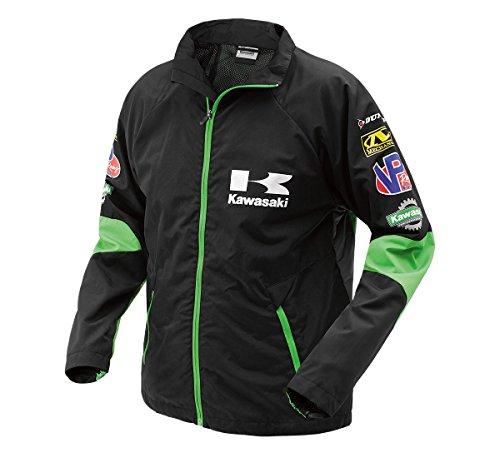 Kawasaki Race - KAWASAKI WIND RESISTANT RACE TEAM WINDBREAKER K005-0281-BKXS