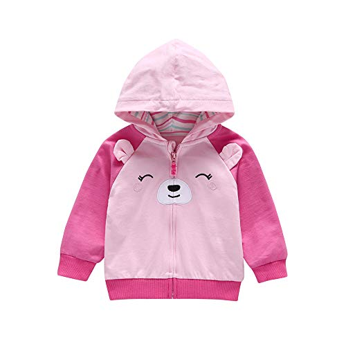 Hooded Coat Clearance Iuhan Baby Dog Ears Tops Hoodie Zip Warm Outfits Coat Clothes